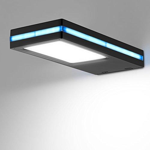 ONEVER Solarbetriebene Rader-Sensor-Licht-Wand-Lampen-wasserdichte Nacht Sensor LED-Lampe Au?enleuchte (Ge-licht-schalter)