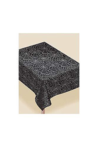 amscan International 570005-90Spinnen Flanell Web Kunststoff Tisch, 2,7x 1,4m