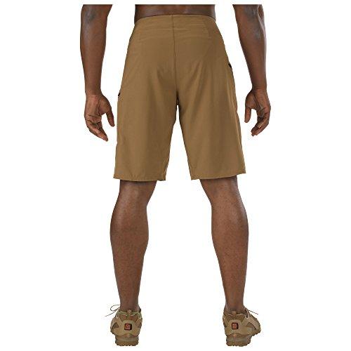 5.11 Tactical Recon Vandal Herren Shorts Braun - Battle Brown
