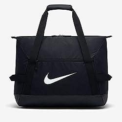 Nike NK ACDMY Team M Duff Sac de Sport Mixte Adulte, Noir (Negro/Blanco), 25 Centimeters