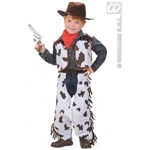 WIDMANN disfraz para niño One Size Bianco Rosso Nero