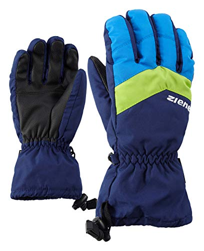Ziener Kinder LETT AS glove junior Ski-handschuhe / Wintersport | wasserdicht, atmungsaktiv