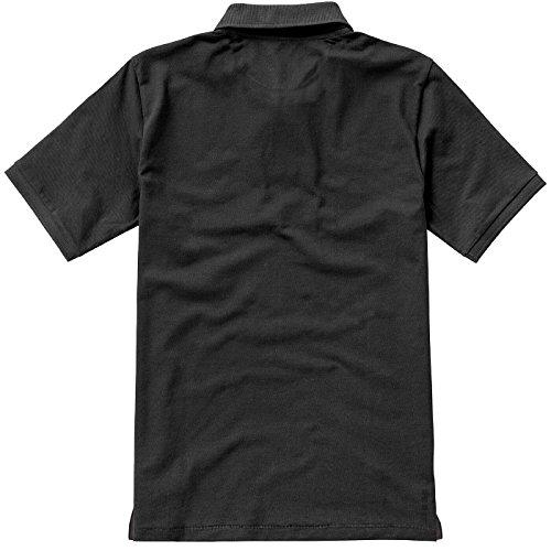 ELEVATE Calgary Poloshirt Anthracite
