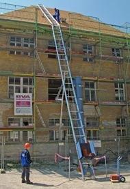 Geda Lift 250 Comfort Dachdeckerlift 11,5m