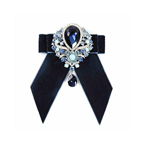 Diamant-Anhänger Querbinder für Männer Einstellbare Pre-tied Bowtie Hochzeit Zubehör Pretied Bowties