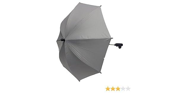 Baby Sonnenschirm kompatibel mit Mountain Buggy Urban Jungle schwarz
