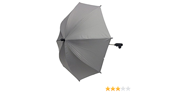 Baby Sonnenschirm kompatibel mit Silber Kreuz Pioneer grau