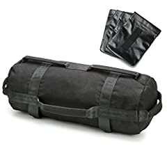 Idea Regalo - Peso Sandbag, PELLOR all' aperto Fitness regolabile sollevamento pesi Sacco di sabbia con all' interno tasche