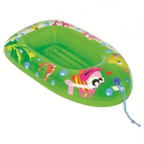 PhoneStar Schlauchboot für Kinder Pool & Strandboot Gummi 112x70cm in grün