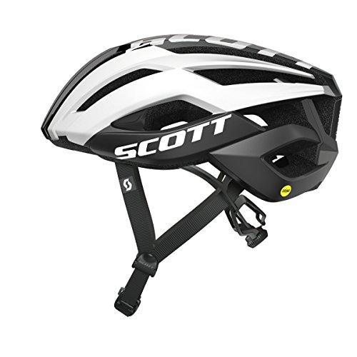Scott Arx Plus Rennrad Fahrrad Helm weiß/schwarz 2018: Größe: M (55-59cm)