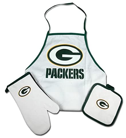 Caseys Distributing 9960603092 Green Bay Packers Grilling Apron