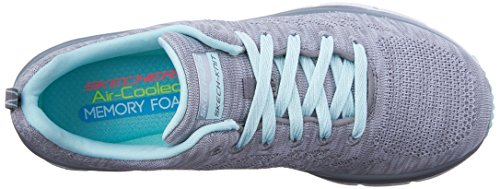 Skechers (SKEES) Fashion Fit- Style Chic, Scarpa Tecnica Donna Grigio (GYMN)