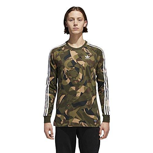 adidas LS CA Camo T-Shirt Camo