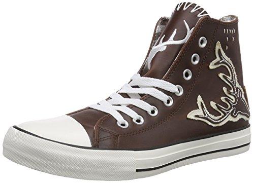 Krüger BUAM 9008, Herren Hohe Sneakers, Braun (braun / 7), 41 EU