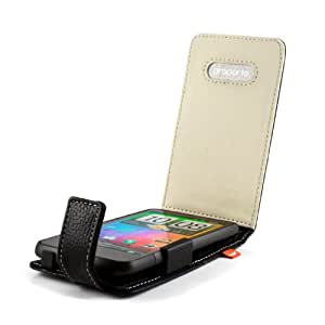 Proporta Aluminium Lined Leather Case for HTC Desire HD