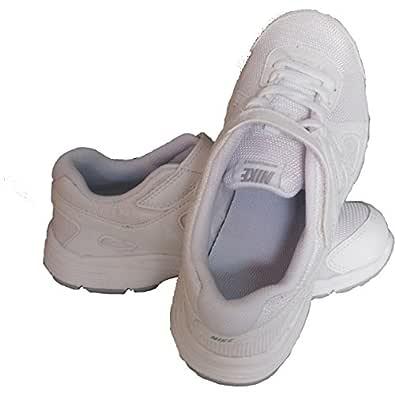 NIKE Boy's Revolution 2 (Psv) White/White Running Shoes - 10.5 UK/India (28 EU)(11 US)(555083-102)