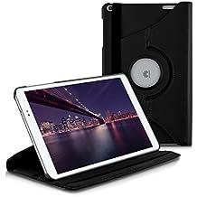 kwmobile Funda para Huawei MediaPad T1 10 - Case de 360 grados de cuero sintético para tablet - Smart Cover completo y plegable para tableta en negro