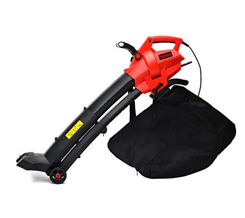 sxyp Garden Gear Laubsauger, 45-Liter-Staubbeutel Vakuum, Elektrisch Wired GroßEr Geblasener Hochleistungs-Laubzerkleinerer, 3-In-1-Laubsauger-GebläSe 10: 1, Mit Verschiedenen Meter Kabeln