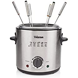 Friteuse/Fondue Tristar FO-1102 – Volume 1 litre – Thermostat réglable