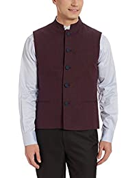 John Miller Men's Linen Waistcoat
