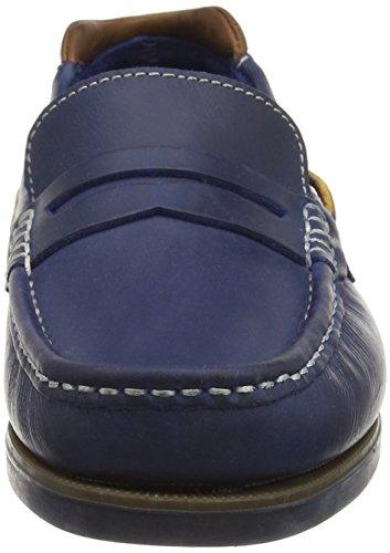 Chatham Marine Herren Balfour Bootsschuhe, Blau Blau - Bleu (Navy/Tan)