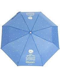 Mr. Wonderful  - Paraguas mediano : aunque caiga el diluvio universal, hoy será un día genial