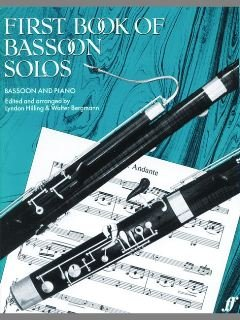 FIRST BOOK OF BASSOON SOLOS - arrangiert für Fagott - Klavier [Noten / Sheetmusic]