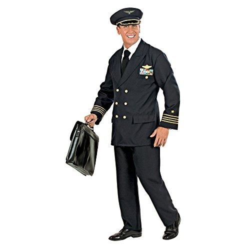 (Widmann 57733 - Erwachsenenkostüm Pilot)