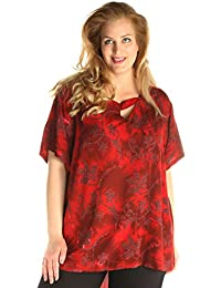 Lagenlook A-Linie Tunika Long-Shirt BORDEAUX Kapuze 42 44 46 48 50 52 54 56 58