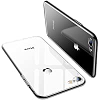 TORRAS iPhone 8 Case, iPhone 7 Case, Ultra Thin Slim Crystal Clear Case with Transparent Soft Silicone TPU Gel Bumper Case Cover for iPhone 7/ iPhone 8 - Full Clear