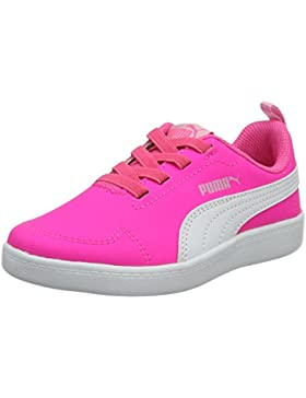 Puma Unisex-Kinder Courtflex Ps Low-Top