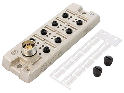 asbs-r8-led5-4-distribution-box-m12-pin5-socket-4a-with-led-indicators