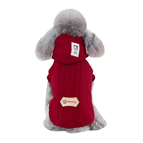 Berrose-Katzenhundekornlinie Warmer Mantel Haustierzubehör Winterbekleidung Welpen-Kostüm Haustier Kleidung Welpen Kostüm Hund Katze Fantastische Party