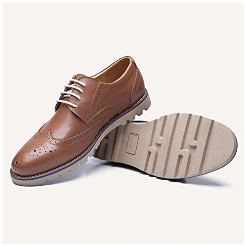 Chaussures de ville mocassins homme Jaune