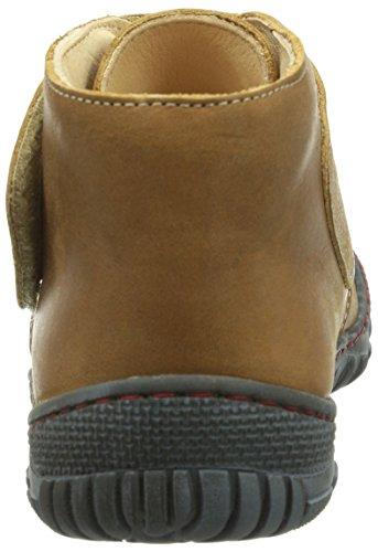 Pololo Elche, Chaussures bateau Mixte enfant Beige (amaretti /640)