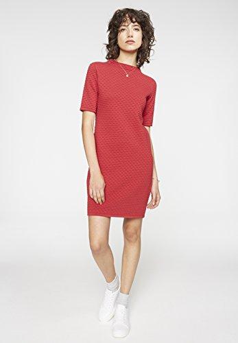 ARMEDANGELS Damen Kleid aus Bio-Baumwolle - Jalessa - GOTS, ORGANIC, CERES-008 Chili Red