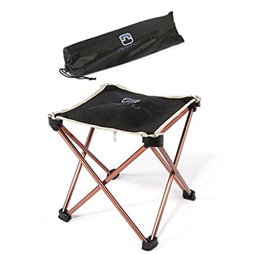 41jtd7LHDaL. SS500  - Portable Folding Camping Chair - Kingwo Outdoor Folding Aluminum Chair Stool Seat Children Chair for Aotu Fishing…
