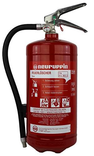 Feuerlöscher Pulver ABC 4 kg Neuruppin Dauerdruck 9 LE DIN EN3