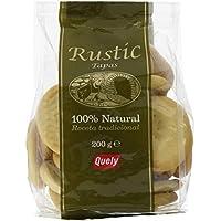 Quely, Crackers salado de agua (Tapas rustic) - 10 de 200 gr. (Total 2000 gr.)