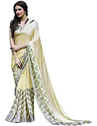 Craftsvilla Women's Satin & Silk Embellished Designer Multicolor Saree With Blouse Piece