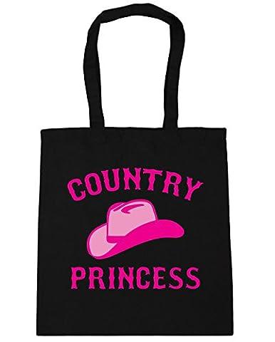 HippoWarehouse Country princess Tote Shopping Gym Beach Bag 42cm x38cm, 10 litres
