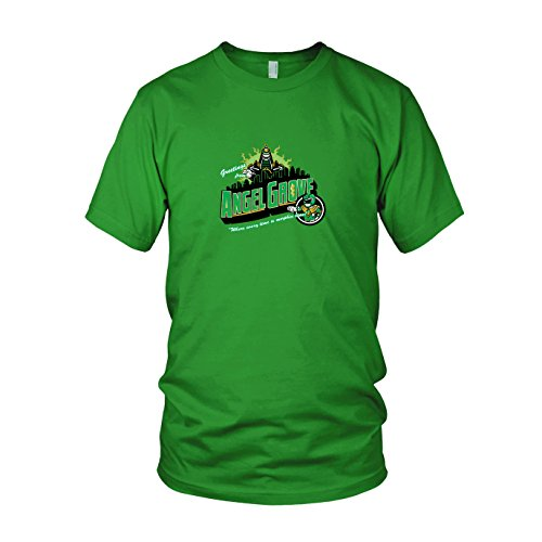 Grove Green - Herren T-Shirt, Größe: XXL, Farbe: grün (Grünen Mighty Morphin Kostüm)