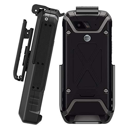 Sonim XP5 Clip, Belt Drehklammer für Sonim XP5 (AT&T Verizon Wireless XP5700), sichere Passform und Schnellentriegelung (langlebig, zuverlässig und leicht) - Nicht für XP5S - Gun-clips