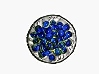 Beautiful marbles glass shooter assorted game. * material: glass * colour: multi -colour * size: 20 to 25 mm(Approx.) * sales for: lot of 100 pieces * weight: 500 g (approx) * glass marbles decorative aquarium marbles are the perfect addition to your...