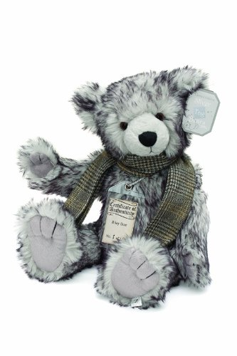Suki Gifts 17040 – Collector's Edition Silver Tag Bear Riley, 48 cm