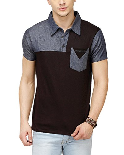 Campus-Sutra-Men-Polo-Neck-T-Shirt-With-Pocket