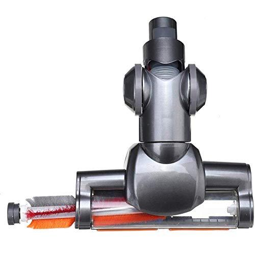 J.W. Statt Eines Handstaubsauger Angetriebene Reinigungsmittel/Turbo-Brush Werkzeugen Manuell Saug Kohlefaserbürste Cleaner Brush Ersatzbürstenersatzturbine,Schwarz