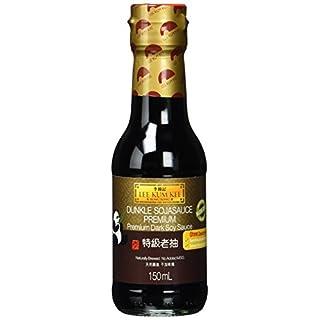 Lee Kum Kee Soja-Sauce dunkel (aus China, natürlich gebraut, ohne Geschmacksverstärker, würzig) 6er Pack (6 x 150ml)