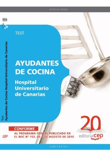 Ayudantes de Cocina Hospital Universitario de Canarias. Test (Colección 1559) por VV.AA.