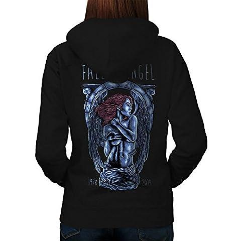 Fallen Angel Art Fashion Women L Hoodie Back | Wellcoda
